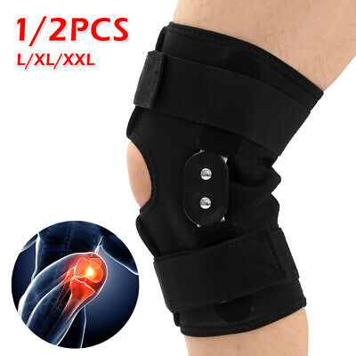 1dfe4212d0 Aluminium Knee Double-Hinged Support Medical Grade Breathable Open Patella  Brace