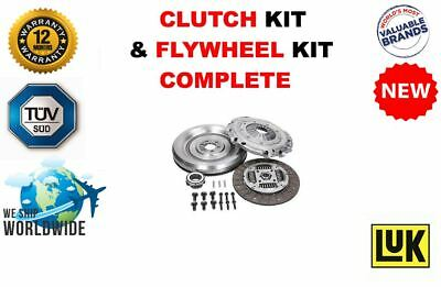 FOR FORD TRANSIT 2.4 TDCi 5-SPEED 2006-2014 NEW DUAL MASS FLYWHEEL + CLUTCH KIT