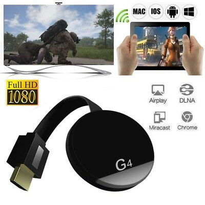 G4 Miracast WIFI HDMI 1080P TV Digital Media Video Screen Streamer Dongle Top