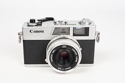 "Canon Canonet 28 + 40mm 1:2.8 Rangefinder Camera "" NEW SEALS""."