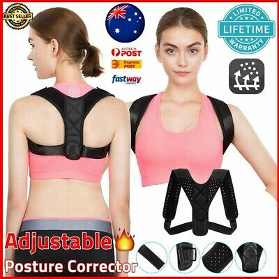 Posture Corrector Support Back Clavicle Straight Shoulders Brace Strap Correct