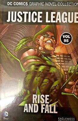 Dc Comics =Graphic Novel Collection = Vol 95 = Justice League = Rise And Fall