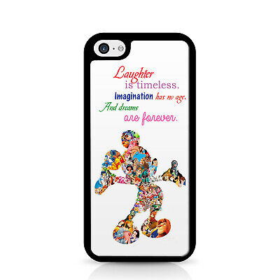 Laughter is Timeless Mickey Passport Case Cover Holder /& Luggage Tag 01PNT186