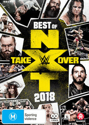 WWE: Best of NXT Takeover 2018  - DVD - NEW Region 4