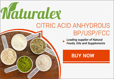 Citric Acid Bp/usp/fcc - 5Kg Bulk Purchase - Free Post!