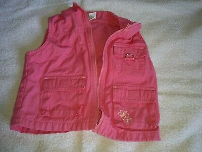girls pink waist jacket age 6 years from adams used in very good condition
