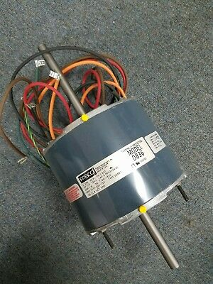 FASCO D836 1/3 HP 1.8 A 230V 60HZ 1/2 shaft 1075-900-750 RPM BLOWER MOTOR NEW