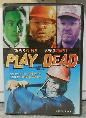 Play Dead (DVD, 2009) RARE COMEDY CHRIS KLEIN / FRED DURST BRAND NEW