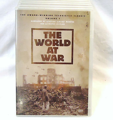 Band of Brothers and The World at War (almost) Complete DVD Boxed Sets