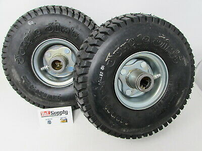 2 Jungle Jims Sulky Wheel & Tire Assembly & Bearings 4.10/3.50-4 900Jun Jw-Wheel