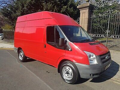 2008 Ford Transit  2.2 Fwd Mwb High Roof 110Bhp 350M Low Miles No Vat