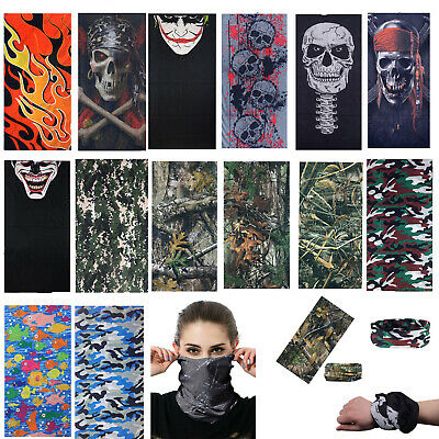 Kerchief Face Mask Sun Mask Neck Gaiter Balaclava Fishing Scarf Headwear UV Tube