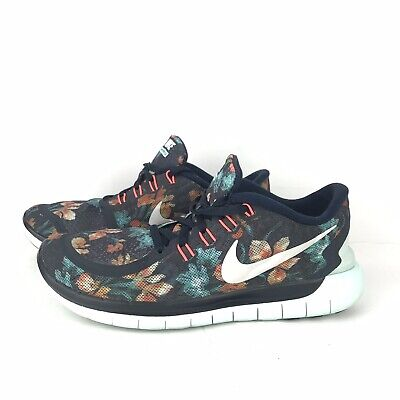 the latest c09ab 4e5bc Nike Free Running Shoes Photosynthesis Sneaker 5.0 Floral Flower Print  Womens 7