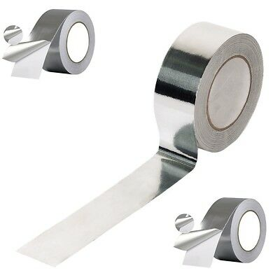 1 Roll Celotex/Kingspan Aluminium Foil Insulation Tape 50mm x 50m Self Adhesive