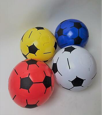 "12 x 8"" Plastic Inflatable Football Training Sports Outdoor Indoor Beach Toys"