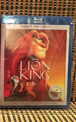 The Lion King: Signature Ed (2-Disc Blu-ray/DVD, 2017)Disney Classic.Elton John