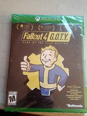 SEALED XBOX ONE Fallout 4 G O T Y  of the Year Edition game, SHIPS IN 1 DAY!