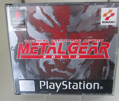 Metal Gear Solid (Sony Playstation 1) PAL OVP/3CD's/Anleitung Ps1 Psx