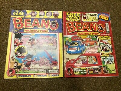 The Beano comic book No 3417 + 3447 from 2008, Fast free post!
