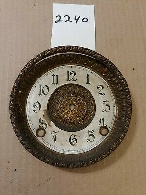 Ingraham  Mantle Clock Dial And Bezel No Glass