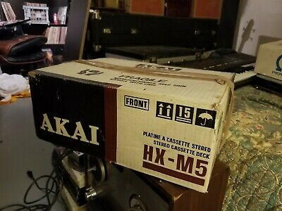 AkAI HX-M5 Stereo Cassette Player Deck, Made in Japan