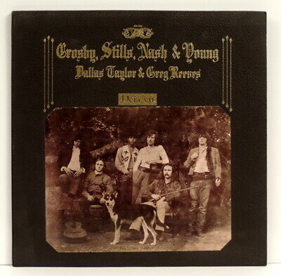 DEJA VU Crosby,Stills,Nash & Young ‎– Déjà Vu LP Orig 1970 Atlantic - SD 7200