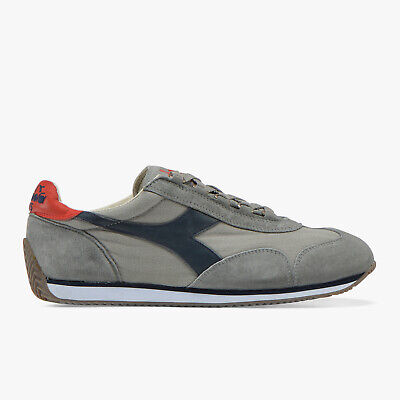 DIADORA HERITAGE EQUIPE SW JR Leather Sneakers Size 38 UK