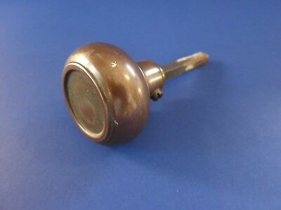 "c.1900 Antique Vintage ~Early 20th Century~ Victorian Door Knob 2"" Bronze Brass"