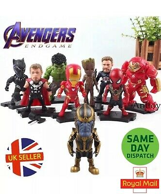 Avengers Figures End Game Infinity War Random Iron Man Hulk Thor SpiderMan UK