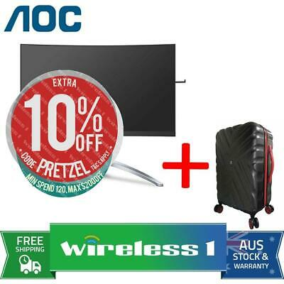 AOC AGON AG273QCX 27in QHD 1ms 144Hz Curved Gaming Monitor + Travelling Suitcase