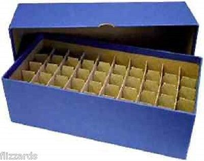 Guardhouse Nickel/Blue Coin Tube Box with, 50 Numis Nickel, Square coin Tubes