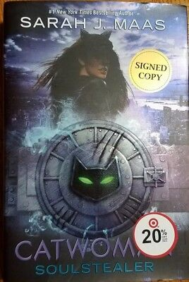 SIGNED / AUTOGRAPHED DC Icons: Catwoman: Soulstealer by Sarah J. Maas