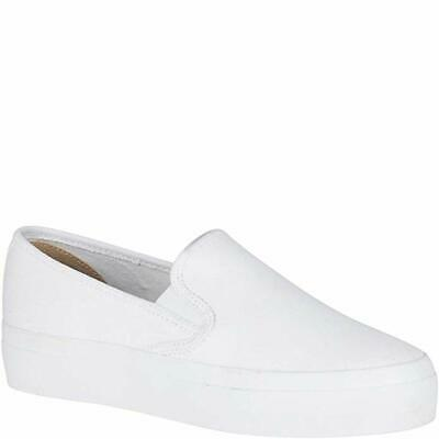 2c988ae8878e Sperry Top Sider Women's Seaside Aerial Fashion Slip On Sneaker White Fabric