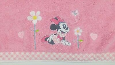 Disney Store Baby Minnie Mouse Bath Towel Girls Swimwear Pink discontinued