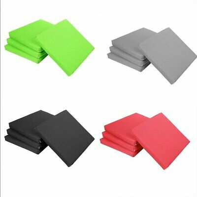 New 4Pcs Outdoor Waterproof Chair Pads Seat Cushions Garden Patio Home Yard pg