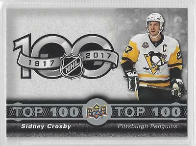 17-18 Tim Horton's TOP 100 CHECKLISTS - Complete Your Set (2 for $1)