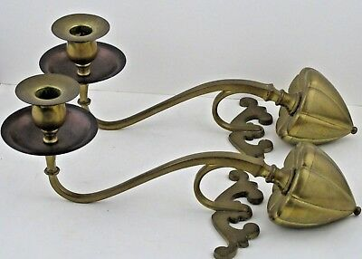 Arts & Crafts Candlesticks W.A.S. Benson unsigned