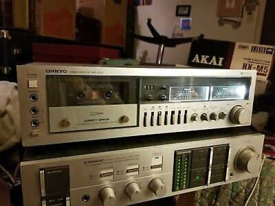 Onkyo TA-2050 Dolby Cassette Deck Works With No Issue