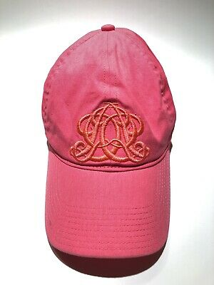 6cfaffff205ca J.CREW Women s Pink BASEBALL HAT CAP ONE SIZE Embroidered Crest Preowned  Free