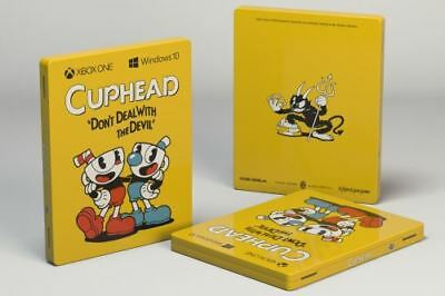Cuphead Steelbook Future Pack Game for Xbox one  with stickers /France