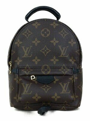322960e05f3 Louis Vuitton Palm Springs Backpack MINI Hand Shoulder Day Bag Brown M41562  Used
