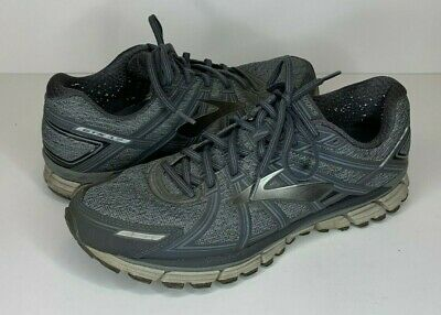 e7b8d2c2509 Brooks Mens Size 12 D Adrenaline GTS 17 Heather Anthracite Running Shoes  Gray