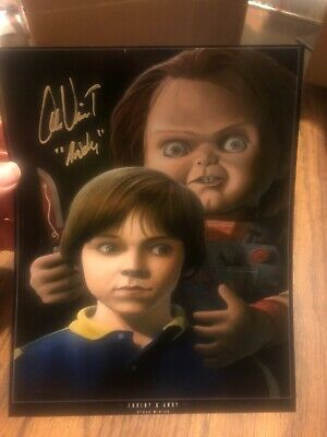 ALEX VINCENT AUTO SIGNED 8X10 CHILD'S PLAY! CHUCKY! ANDY! HORROR! Photo 1