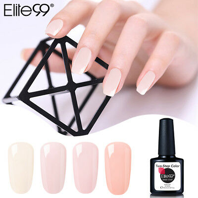 Elite99 Esmalte Semipermanente de Uñas en Gel UV LED Soak Off Manicura 10ML