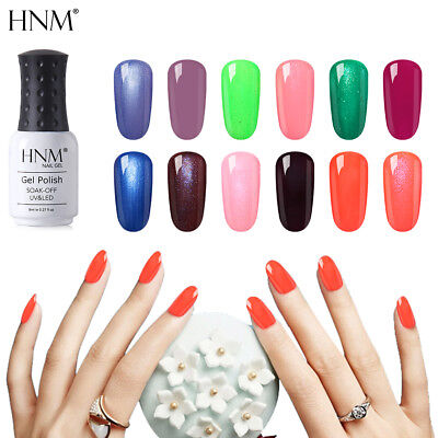 HNM Color cambiante Esmalte Semipermanente de Uñas en Gel UV LED Soak Off 8ml