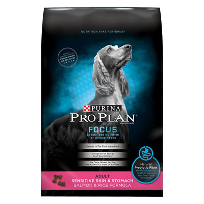 Purina Pro Plan FOCUS Sensitive Skin & Stomach Adult Salmon & Rice Dry Food 41LB