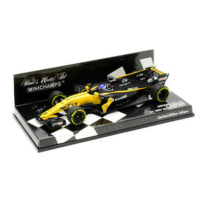 MINICHAMPS 1:43 Renault RS17 2017 F1 Teat Bahrain S.Sirotkin (417170046)