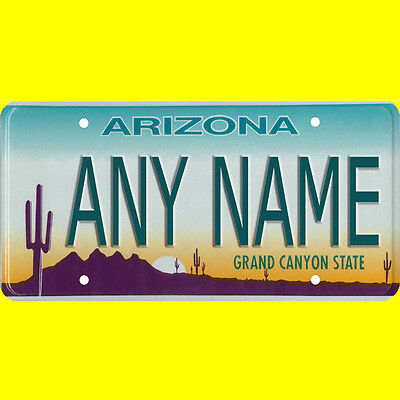 License plate, golf cart, mobility scooter - Arizona design, custom, any name