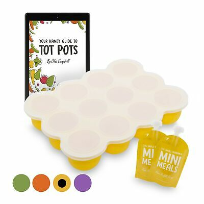 Baby Food Storage Containers - Freezer Trays for Baby Weaning Pots, eBook, Po...