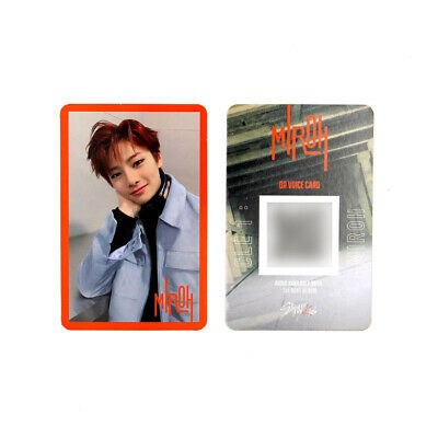 [STRAY KIDS] SKZ / Cle1 : MIROH Official Photocard / Red Border / I.N